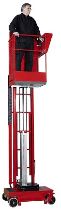 Liftman pnematic lifting platform solution for working at height