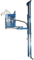 Wall-Man pnematic lifting platform solution for working at height